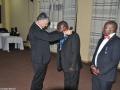 Ämterübergabe Sambia Präsident Ernesto Zimba und Makarios