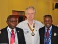 mit Präsident Kennedy Kabaghe und VP Ernesto Zimba
