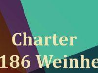 Einladung zur Charter von Old Tablers 186 Weinheim am 21.04.2018