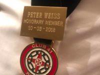 Peter Weiß erhält Ehrenmitgliedschaft von Club 41 Portugal