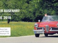 1. Oldtimer-Charity-Ausfahrt – Schönes Wetter, schöne Autos, tolle Organisation