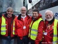 Weihnachtspäckchenkonvoi startete heute in Richtung Moldawien, Bulgarien und Rumänien [Fabian Engler]