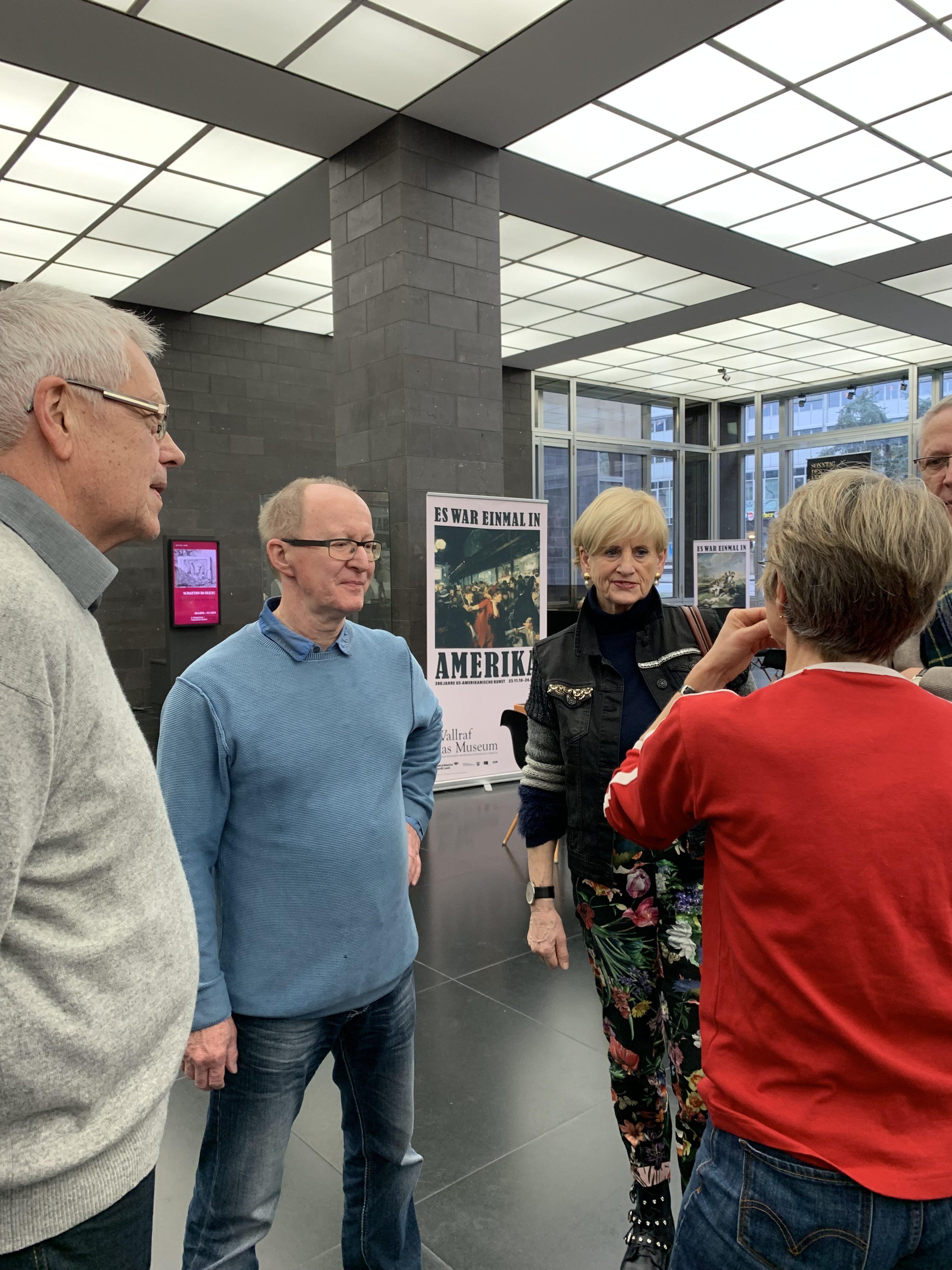 """D6 – Ausstellung """"Es war einmal Amerika"""" & Früh Kölsch, eine geschichtsträchtige Brauerei"""
