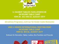 RTKJK Tabler-Familienwoche und KIM 2019