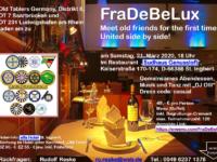 ABGESAGT FraDeBeLux in St. Ingbert am 21.03.2020
