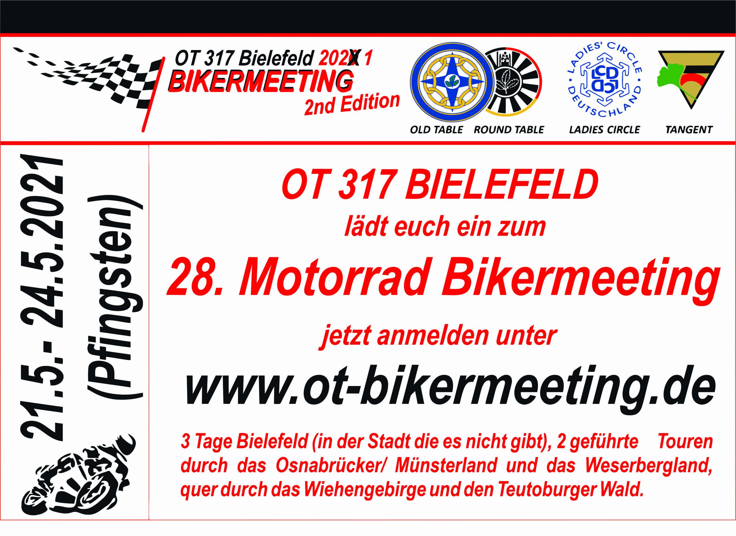 OT 317 BikerMeeting – 21.05. bis 24.05.2021