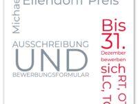 Bewerbung für Michael Ellendorff Preis 2021 / 2022